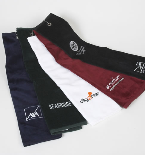 Luxurious, Plain & Embroidered Golf Towels