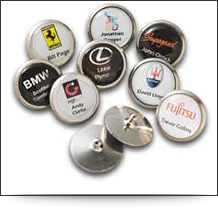 Personalised Gem Golf Ball Markers