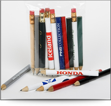 Golf Pencil printing and golf personalised pencil